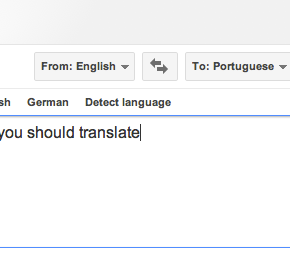 When you should translate literally